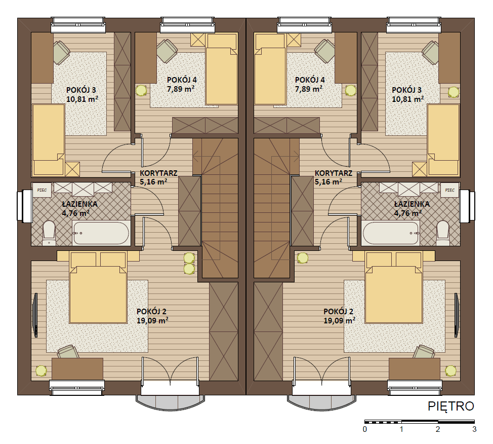 dom szeregowy w mosinie